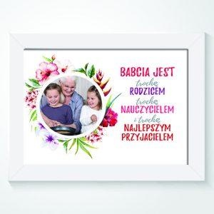 Plakat na dzień babci