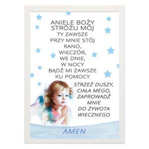 Plakat Aniele Boży